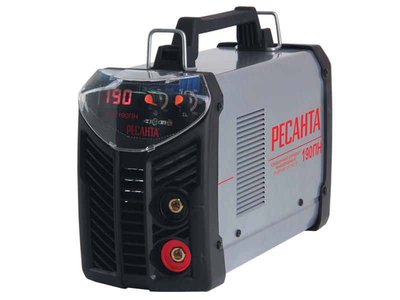 Сварочный аппарат РЕСАНТА САИ-190ПН инверторный аппарат сварочный ресанта саи140 инверторный 65 5