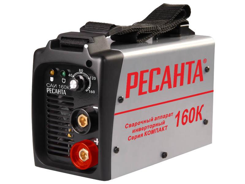 цена на Сварочный аппарат РЕСАНТА САИ-160К(компакт) инверторный