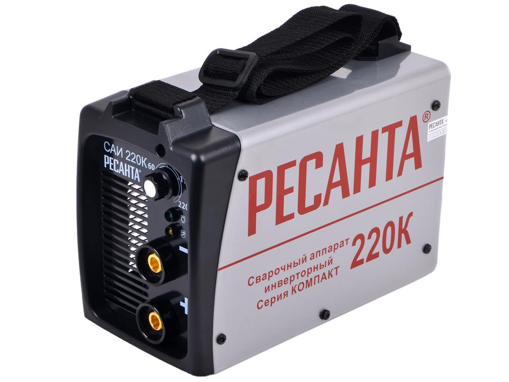 Сварочный аппарат РЕСАНТА САИ-220К(компакт) инверторный