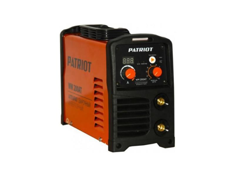 Аппарат сварочный Patriot WM 160AT 10/160A инверторный инверторный сварочный аппарат patriot dc 180