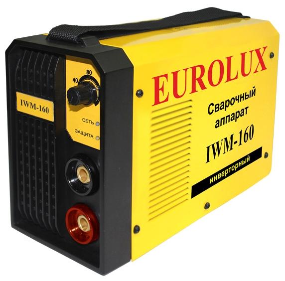 Сварочный аппарат EUROLUX IWM160 инверторный сварочный аппарат инверторный eurolux iwm190