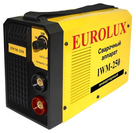 Сварочный аппарат EUROLUX IWM250 инверторный eurolux iwm220 65 28 инверторный сварочный аппарат