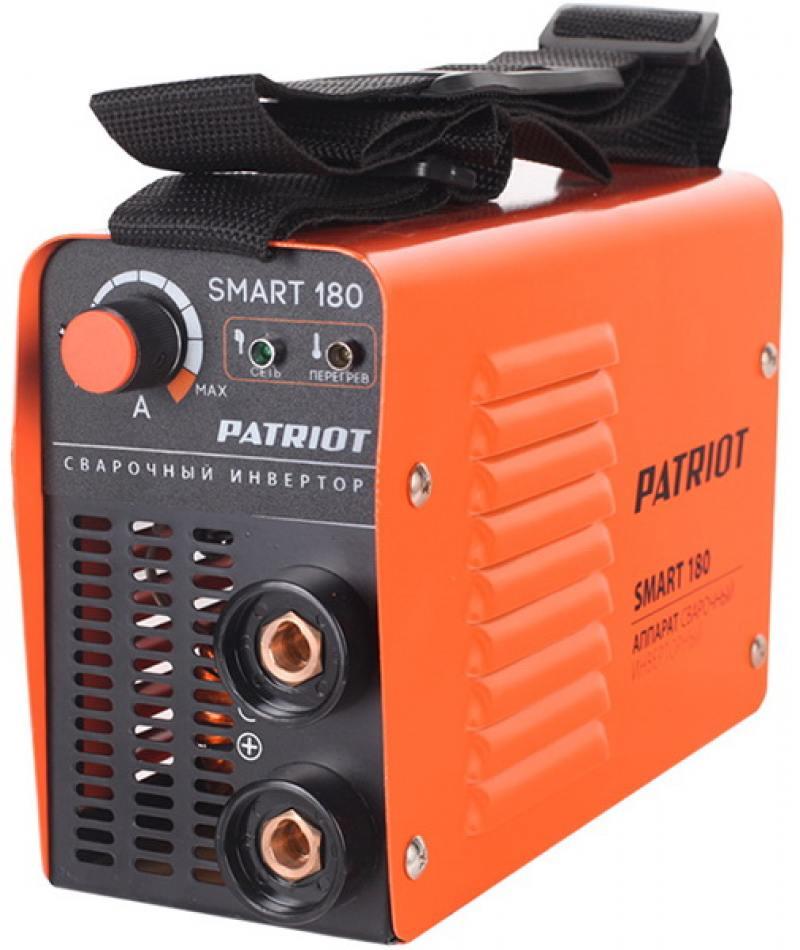 Аппарат сварочный Patriot SMART 180 MMA инверторный сварочный аппарат patriot smart 180 mma