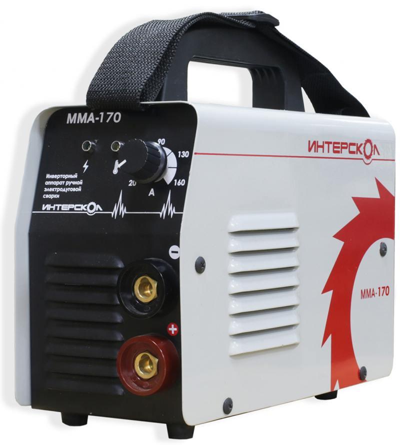 Аппарат сварочный Интерскол ИСА-170 сварочный аппарат интерскол иса 250 10 6