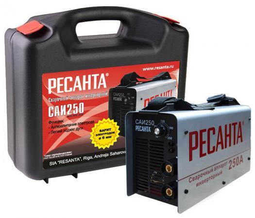 Аппарат сварочный Ресанта САИ 250К 65/38 сварочный аппарат ресанта саи 250к компакт 65 38
