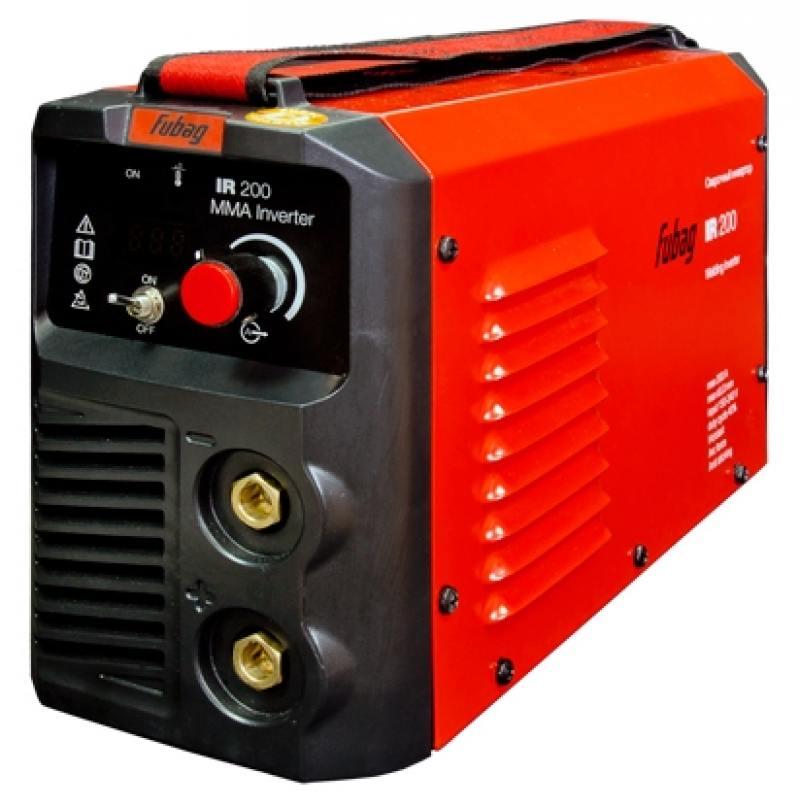 Аппарат сварочный Fubag IR 200 инверторный 68 097 аппарат сварочный sturm aw97i125 инверторный