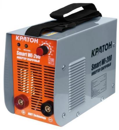 Инвертор сварочный КРАТОН Smart WI-200 7.2кВт 220В 50Гц 10-200А 1.6-5.0мм 6.9кг перфоратор кратон rhe 450 12 3 07 01 022