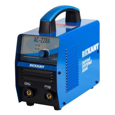Сварочный аппарат инверторный REXANT® АС-220А инверторный сварочный аппарат daewoo mini dw220i