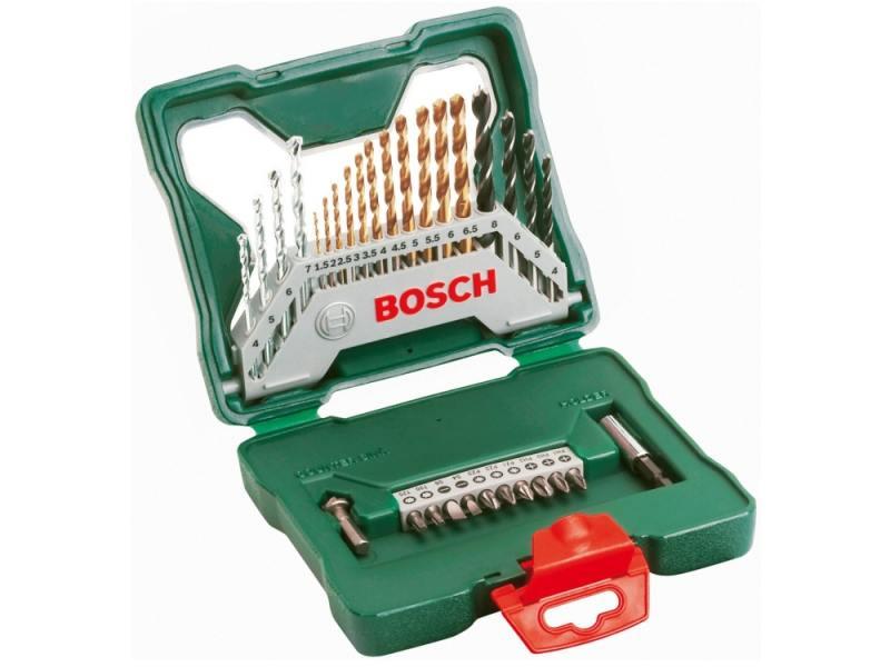 Набор бит и сверел Bosch X-Line-30 55200112 bosch x line 15 2607019579