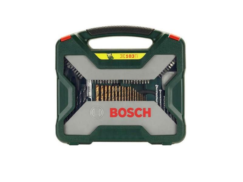 Набор бит и сверел Bosch X-Line-103