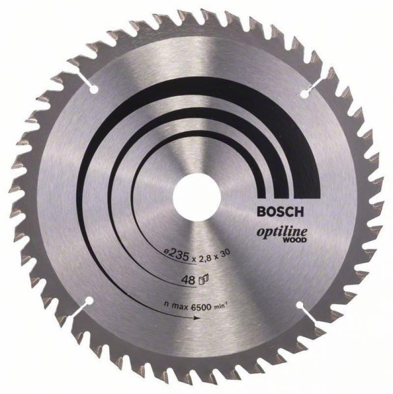 Пильный диск Bosch 235х30мм 2608640727 диск пильный bosch multimaterial 2608640510