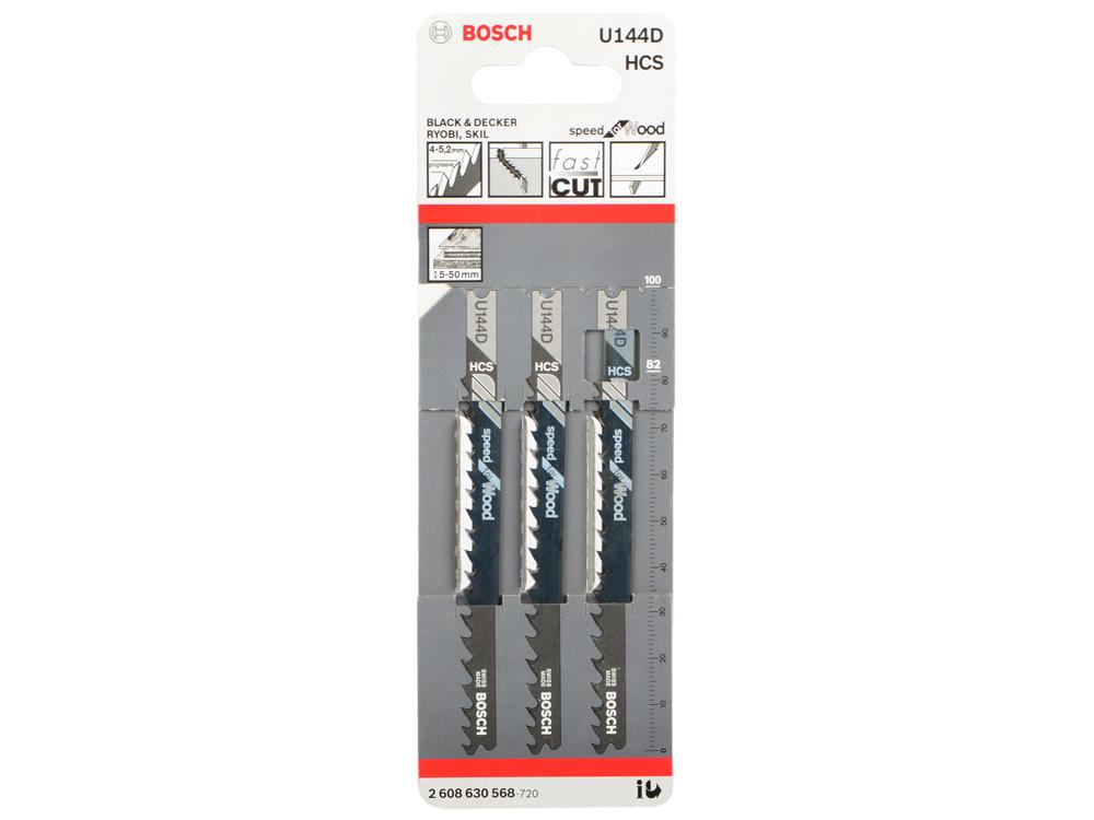 Лобзиковая пилка Bosch U 144 D HCS 2608630568 лобзиковая пилка bosch u 144 d hcs 2608630568