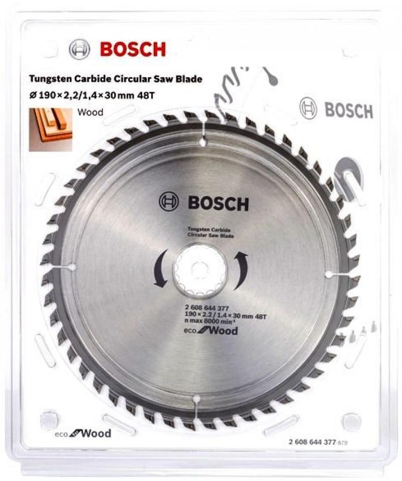 Пильный диск Bosch 190x30-48T 2608644377 fouriers 7075 oval single chain ring 38t 40t 42t 44t 46t 48t chainrings bcd 104mm narrow wide tooth mtb bike chainwheel crank