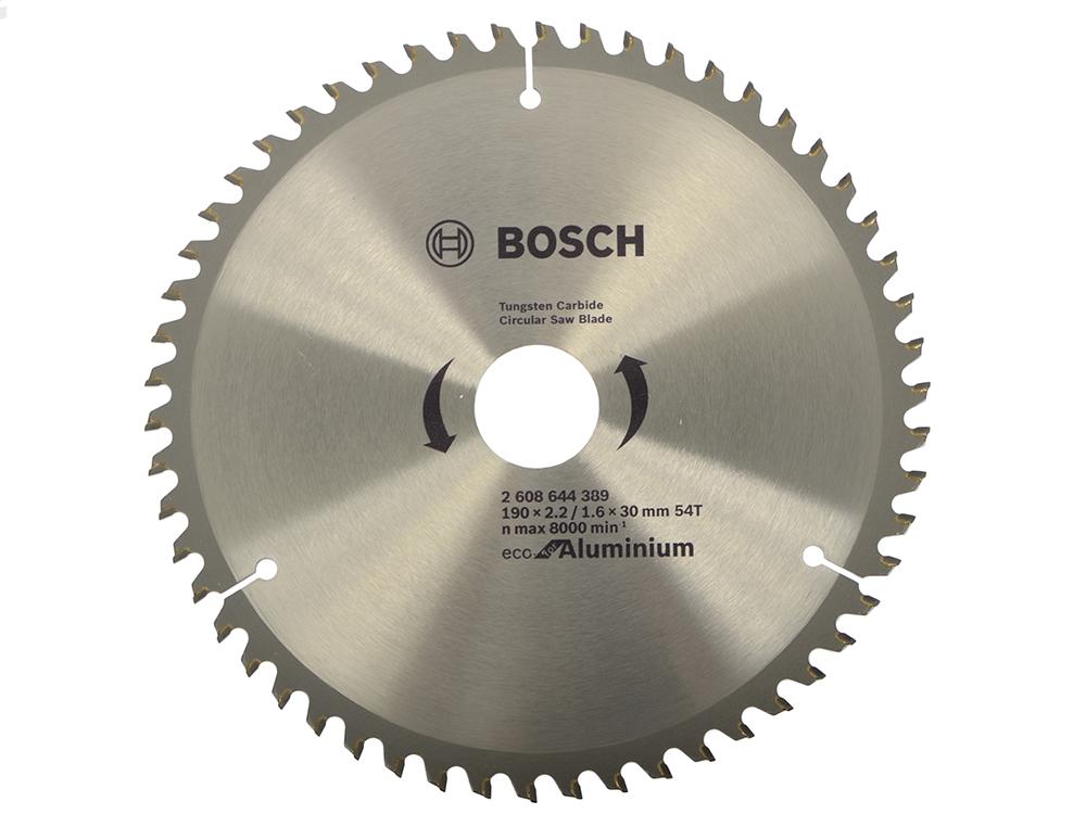 Пильный диск Bosch 190x30-54T 2608644389 пильный диск bosch 256х30мм 2608641795