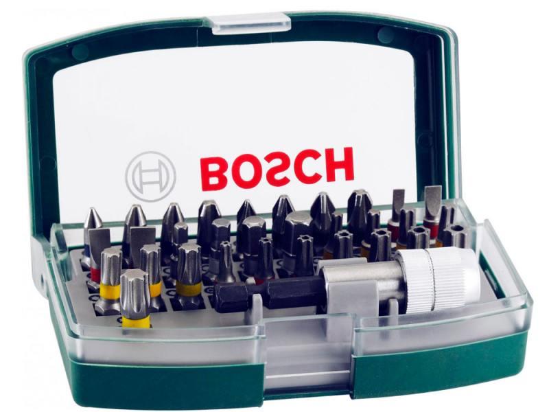 Набор бит Bosch 32шт 2607017063 набор бит bosch 32 шт 2607017063