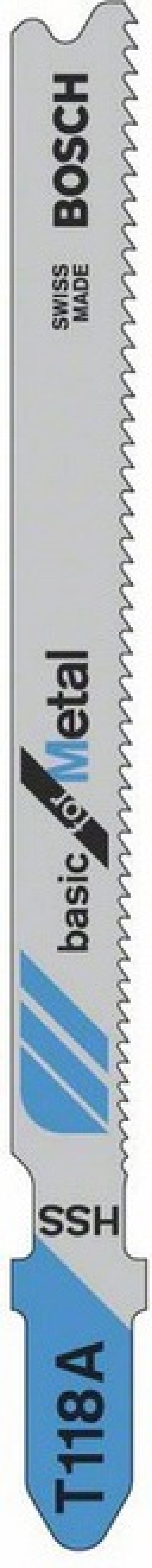 Лобзиковая пилка Bosch T 118 А HSS 5шт 2608631013 цена 2017