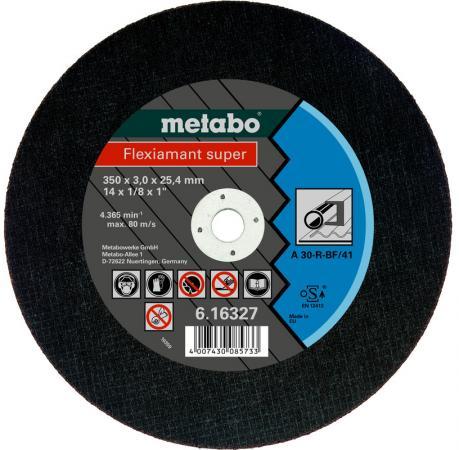 все цены на Отрезной круг Metabo Flexiamant S 350x3x25.4 прямой A36S 616339000