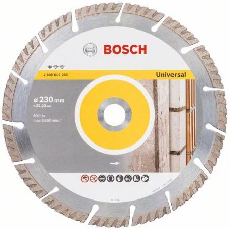 Алмазный диск Bosch Stf Universal 230-22.23 2608615065 круг алмазный практика 030 757 da 230 22t 230 х 22 турбо