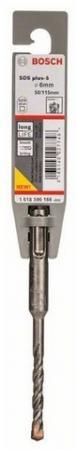 Бур Bosch SDS PLUS 1618596166 6x50x115мм бур sds plus 1 bosch 16x150x210мм 2608680285