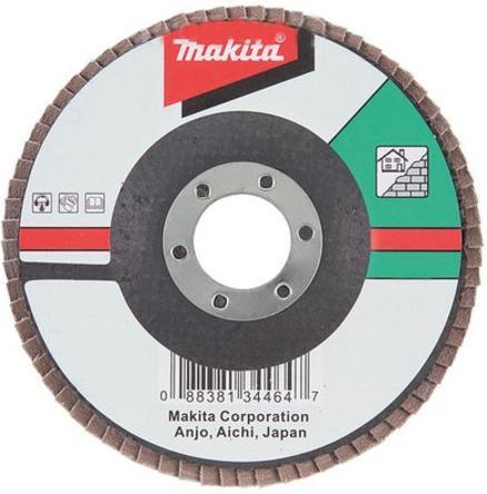 Лепестковый диск Makita 180х22мм К40 D-28139 шлифлента makita 100х610мм к40 5шт p 36887