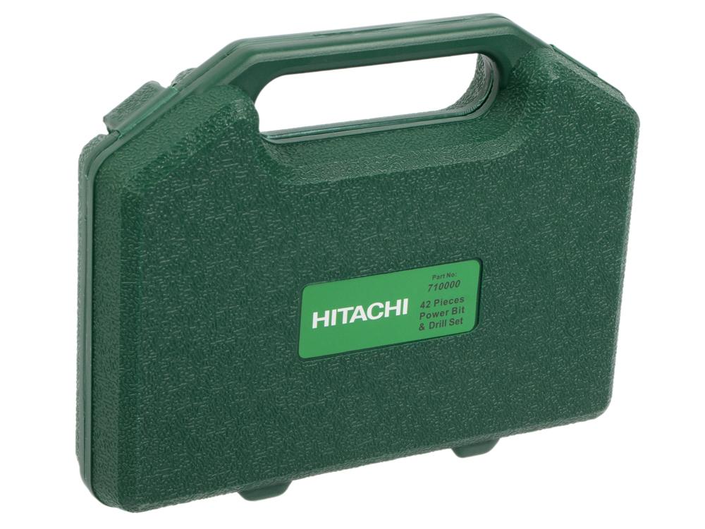 Набор бит Hitachi 710000 42шт набор инструмента hitachi 774019