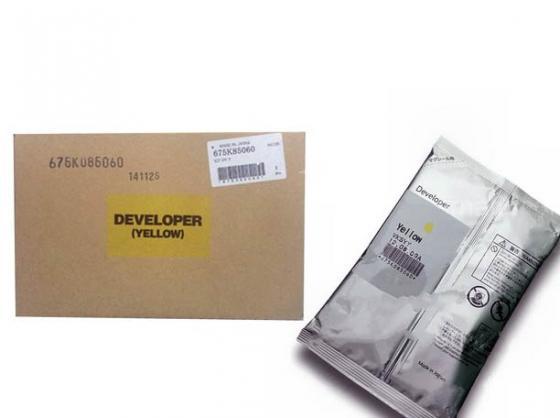 Девелопер Xerox 675K85060 для WC 7556 желтый картридж xerox 006r01517 для xerox wc7545 7556 черный