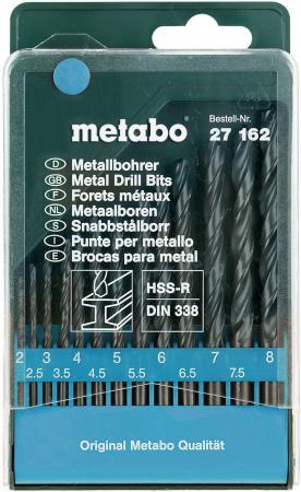 Набор сверел Metabo HSS-R 13шт 627162000