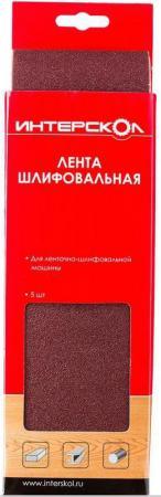 Лента шлифовальная Интерскол 100х610мм k 400 для ЛШМ-100/1200 5шт 2081961040000 настольный электролобзик интерскол мп 100 700э