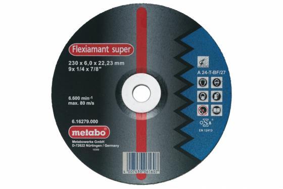 Круг обдирочный METABO 616486000 сталь Flexiamant S 125x6.0мм A24T