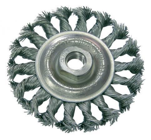 Кордщетка PROLINE 32530:P дисковая сталь пров.волн. fi=100мм резьба М14 proline 34412 p