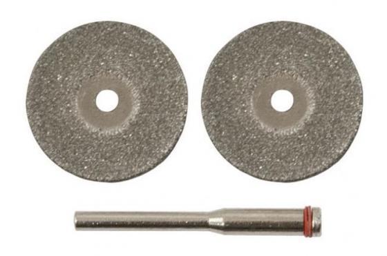 Круг отрезной FIT 36930 22мм 3 шт и штифт д.3мм круг отрезной hammer 150х2х22 упак 200 шт