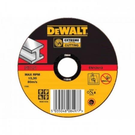 Круг отрезной DEWALT DT42310Z-QZ Ф125x22.2х2.8мм тип 1 INDUSTRIAL по металлу все цены
