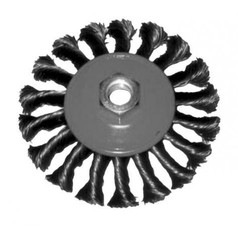 Кордщетка FIT 39101 колесо 100мм витая