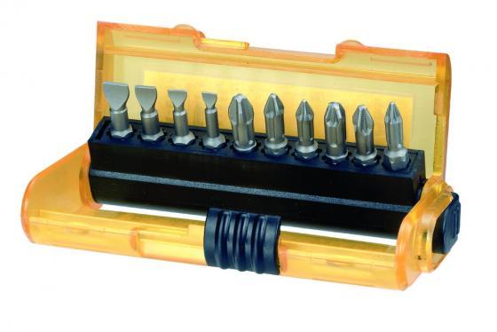 Набор бит DeWALT DT7915-QZ EXTREME Extra- Grip (11шт.) в пластиковом контейнере набор бит dewalt dt7918