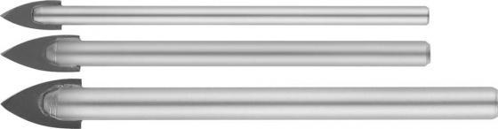 Набор сверл STAYER MASTER 2986-Н3 набор : сверла по керамике и стеклу d5-6-8мм сверло по плитке stayer master 2986 06