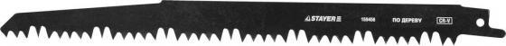 Полотно Stayer S1531L для сабельной ножовки по дереву 159456 цена