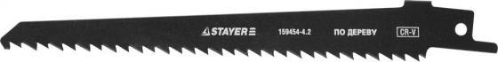 Полотно Stayer S644D для сабельной ножовки по дереву 159454-4.2 полотно для сабельной пилы stayer profi 159460 h3