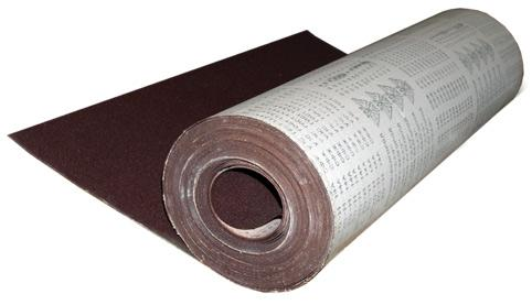 Шкурка шлифовальная № М40 (775) 1 рулон 30м/п бумага наждачная зерно 0 м40 775мм х 30м рулон белгород