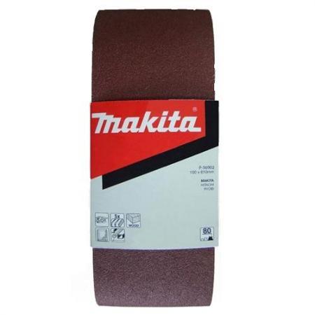 Лента шлифовальная MAKITA P-36918 100 X 610мм, K100, 5шт. лента шлифовальная makita p 39469 9х533 к100