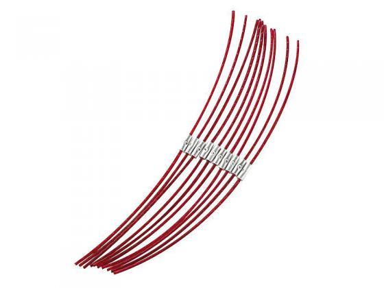 Леска для триммеров BOSCH F016800181 10штук леска для триммеров bosch combi easy f016800176