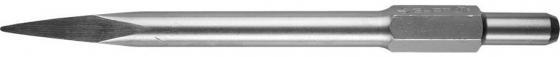 Зубило ЗУБР HEX 30 пикообразное для отбойного молотка шестигранный хвостовик 30мм 410мм 29371-00-410 все цены