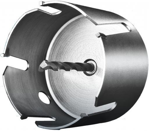 Коронка твердосплавная ЗУБР 29514-80 ПРОФИ ПРОУНИВЕРСАЛ бетон кирпич керам d80мм кирпич бетон пеноблоки