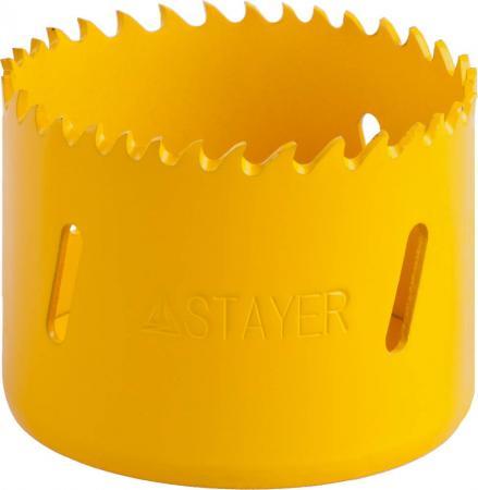 Коронка биметаллическая STAYER PROFESSIONAL 29547-060 d60мм коронка биметаллическая stayer professional 29547 102