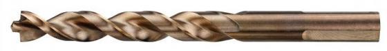 Сверло DEWALT DT4924-QZ Ф4х75х43мм по металлу INDUSTRIAL COBALT 8% 10шт сверло по металлу cobalt 8% 5 5х93х52 мм dewalt dt4907