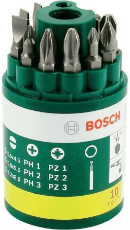 Набор бит Bosch 9шт + универсальный держатель 2607019454 набор бит metabo 626701000 26 предм