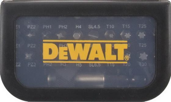 Набор бит DeWALT DT7944-QZ (31шт.) в пластиковом боксе с прозрачной крышкой набор бит dewalt dt7918