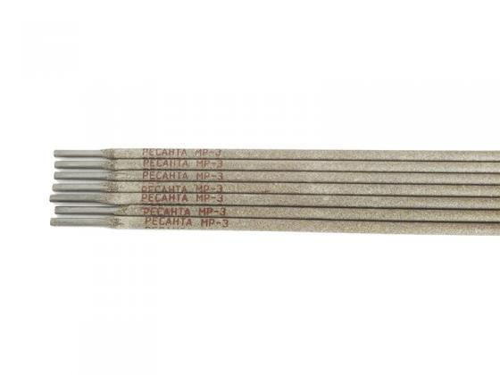 Электрод Ресанта МР-3 Ф2,5 3 кг 71/6/19 электрод ресанта мр 3 ф3 0 пачка 3 кг 71 6 21