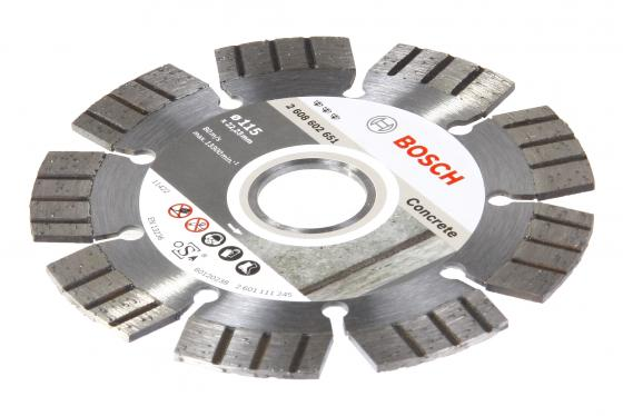 Диск алм. BOSCH Best for Concrete 230x22 сегмент (2.608.602.655) 230 Х 22 сегмент bosch 2 608 602 655 best for concrete 230x22