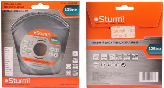 Пильный диск Sturm! 9020-125-22-36T круг отрезной sturm 9020 07 230x25