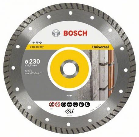 Диск алм. BOSCH Standard for Universal Turbo 180x22 турбо (2.608.602.396) 180 Х 22 турбо круг алмазный практика 030 740 da 180 22t 180 х 22 турбо